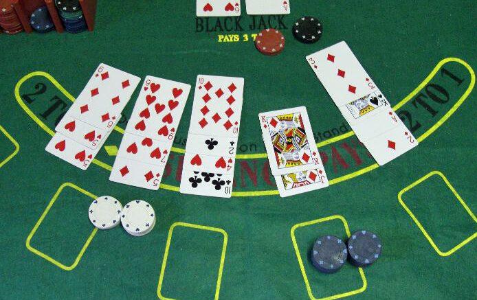 blackjack'te oyununda one cikanlar